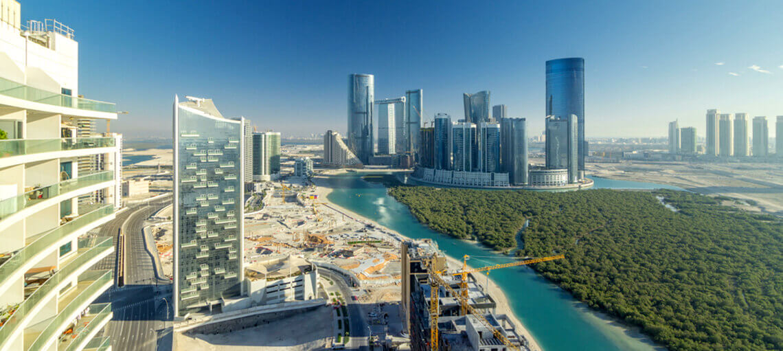 Abu Dhabi is a high-growth commercial hub with strong prospects.